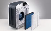 Élément filtrant 2 en 1 : filtre HEPA et filtre à charbon actif