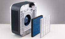 Excellente purification de l'air assurée par le préfiltre et le filtre HYBRID