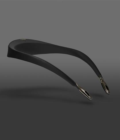 collier ionic purificateur d air airvida noir novelair. Black Bedroom Furniture Sets. Home Design Ideas
