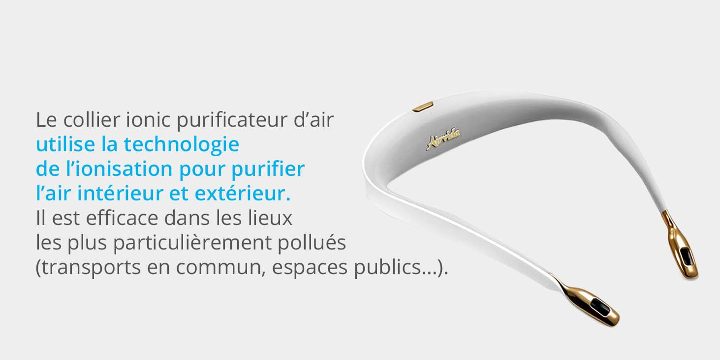 COLLIER PURIFICATEUR D'AIR